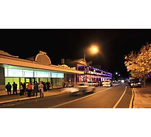 A Busy Night in Bridgetown, Western Australia Photographic Print
