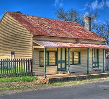 Lyle's Cottage, Hill End, NSW, Australia by Adrian Paul
