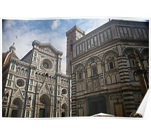 Florence italy Duomo Poster