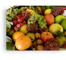 Tasmanian Harvest Selection Canvas Print