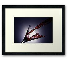 Martini Red Framed Print