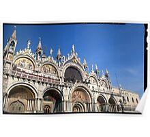 San Marco Basillica Venice Italy Poster