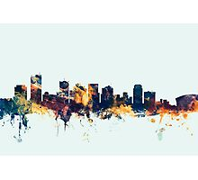 Phoenix Arizona Skyline Photographic Print