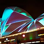 Vivid Sydney - Annual light show in Darling Harbor - Opera House by kaledyson