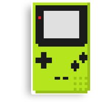 Gameboy Color Pixel Canvas Print