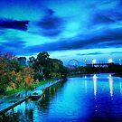 The Board Walk Melbourne by LJ_©BlaKbird Photography