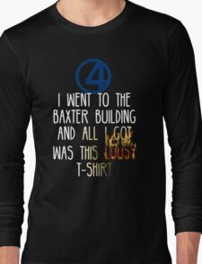 Fantastic 4  Long Sleeve T-Shirt