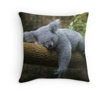 Back to Sleep Throw Pillow