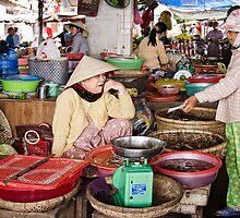 Vietnam: Fresh Shrimps by Kasia-D