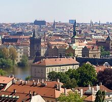 prague city scape by grorr76