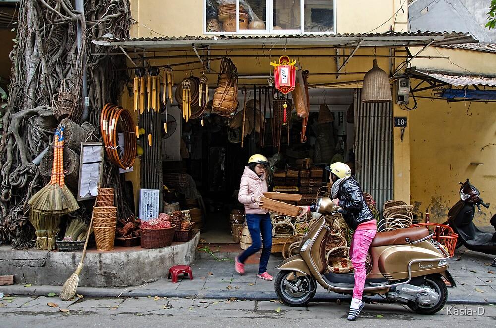 Vietnam: Basketwork by Kasia-D