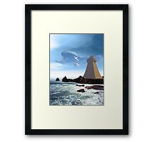 The Unguided Framed Print