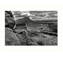 Hen Cloud - Staffordshire Peak District Art Print