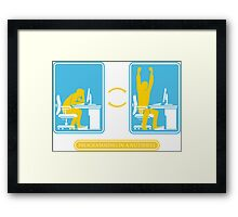 Programming in a nutshell Black Ed Framed Print