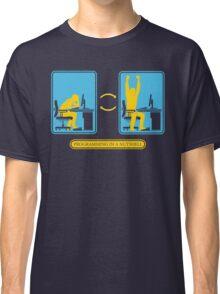 Programming in a nutshell Black Ed Classic T-Shirt