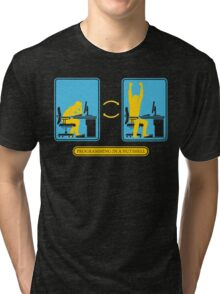 Programming in a nutshell Black Ed Tri-blend T-Shirt