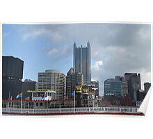 Pittsburgh and Gateway Clipper Poster