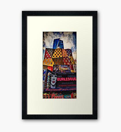 Visiting Gotham Framed Print