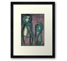 And No One Guessed Framed Print
