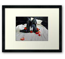 Wedding Night Dreams Framed Print