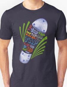 Tap Shoe Color - Dark Unisex T-Shirt
