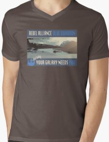 Rebel Alliance Blue Squadron Mens V-Neck T-Shirt
