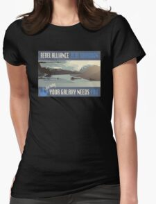 Rebel Alliance Blue Squadron Womens Fitted T-Shirt
