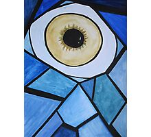 The eye with scales Photographic Print
