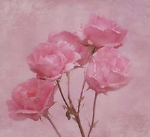 Pink Roses by Sandy Keeton