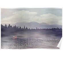 Into The Morning Mist Poster
