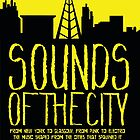 sounds of the city by papertapir