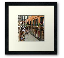 Venice Life Framed Print