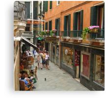 Venice Life Canvas Print