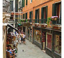 Venice Life Photographic Print