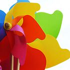 Toy windmill by Jasna