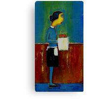 waitress Canvas Print