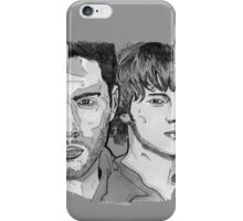 Supernatural - Winchesters - Sam and Dean - SN - Drawing iPhone Case/Skin