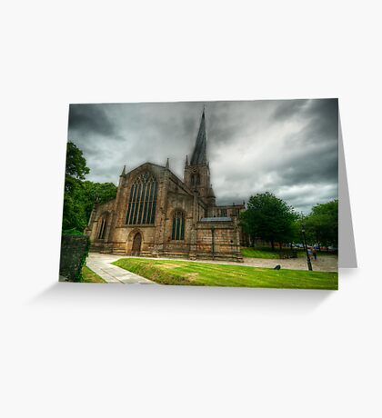 Parish Church of St Mary and All Saints Greeting Card