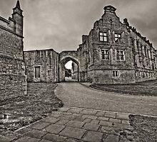 West Terrace - Bolsover Castle by John Hare