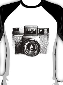 Holga 120S Black (Big) T-Shirt