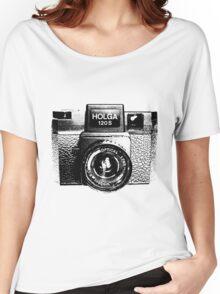 Holga 120S Black (Big) Women's Relaxed Fit T-Shirt