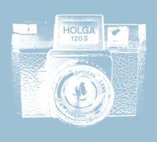 Holga 120S White (Big) One Piece - Short Sleeve