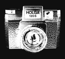 Holga 120S White (Big) Kids Tee