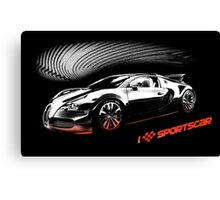Sports car  Canvas Print