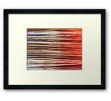Oxidisation Framed Print