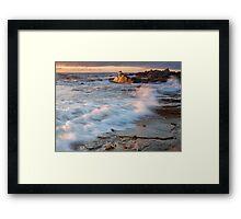 Golden Coast Framed Print