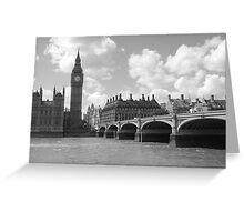 Westminster Bridge Greeting Card