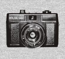 Holga 135 Black One Piece - Long Sleeve