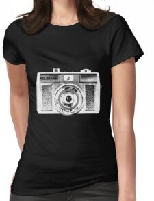 Holga 135 White Womens Fitted T-Shirt