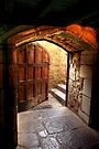 Light Through the Door at Montsalvat by Christine Smith